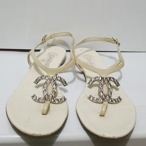 a9ef52fccaf7 Women s Chanel Thong Sandals on Poshmark